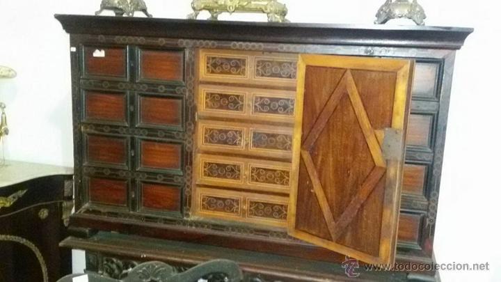 BARGUEÑO DEL XVII (Antigüedades - Muebles Antiguos - Escritorios Antiguos)
