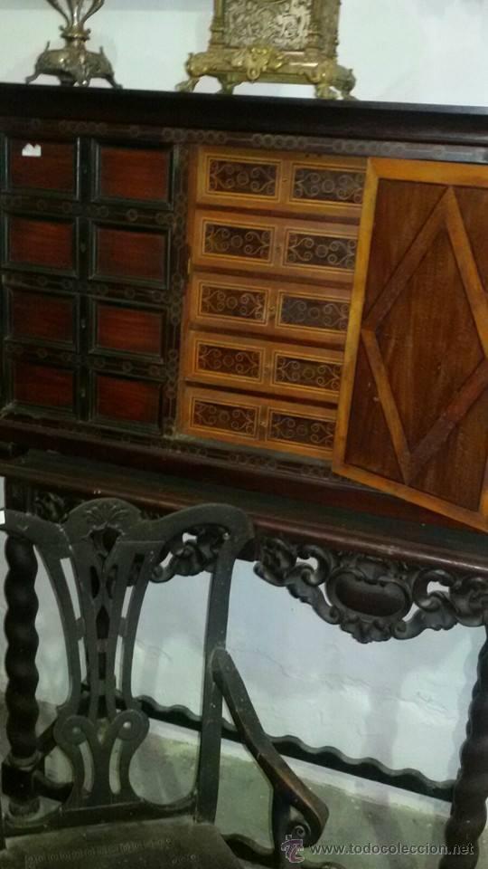 Antigüedades: bargueño del XVII - Foto 2 - 52754246