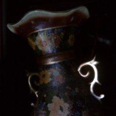 Antigüedades: ~~~~INTERESANTE JARRON PORCELANA ORIENTAL, DECORADO A MANO, 60 CM. DE ALTO~~~~. Lote 52755864