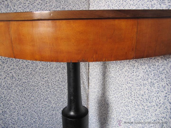 Antigüedades: Precioso velador de esquina S. XIX - Foto 2 - 52763075
