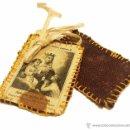 Antigüedades: ANTIGUO ESCAPULARIO ITALIANO BORDADO. Lote 51026608