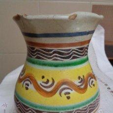 Antigüedades: JARRA CERÁMICA PUENTE DEL ARZOBISPO S.XVIII. Lote 52773862