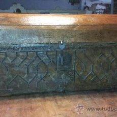 Antigüedades: BAUL MUDEJAR S.XVI. Lote 36826570