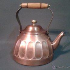 Antigüedades: CAFETERA ANTIGUA DE COBRE. Lote 52785208