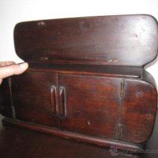Antigüedades: APARADOR DECÓ, MUESTRA DE CARPINTERO.. Lote 52808945