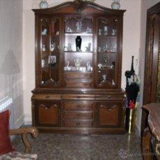 Antigüedades: VITRINA DE NOGAL . Lote 52810705