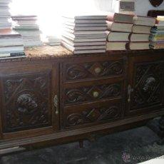 Antigüedades: BUFET DE NOGAL. Lote 52810858