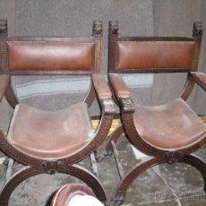 Antigüedades: JUEGO DE SILLONES . Lote 52810876