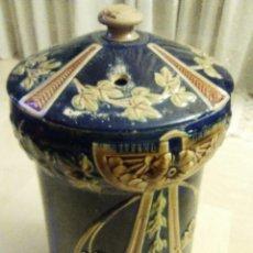 Antigüedades: MUY ANTIGUO DEPOSITO DE AGUA DE CERAMICA, POSIBLEMENTE MODERNISTA. Lote 52823881