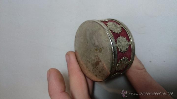 Antigüedades: ALFILETERO EN METAL PLATEADO Y TRABAJADO, S.XIX - Foto 3 - 52827994