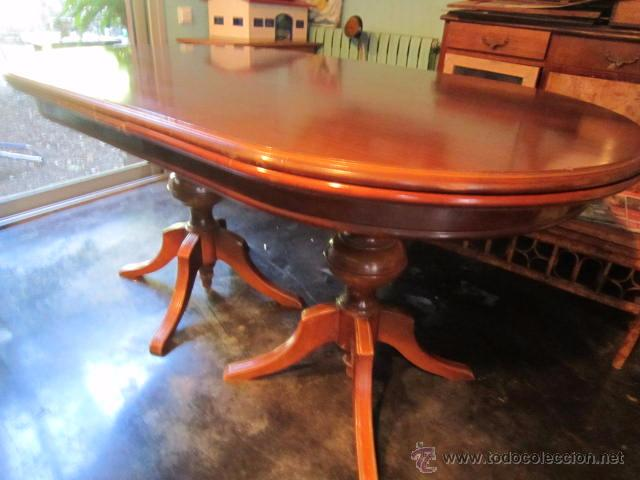 Mesa de comedor estilo ingles sheraton - Vendido en Subasta - 52814028