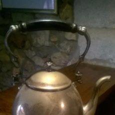 Antigüedades: TETERA CON CALENTADOR ALEMANA WMF . Lote 52832886