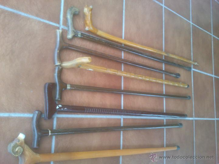 Antigüedades: COLECCION DE BASTONES - Foto 6 - 52833882