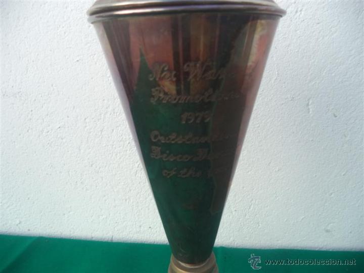 Antigüedades: trofeo alpaca - Foto 2 - 52840726
