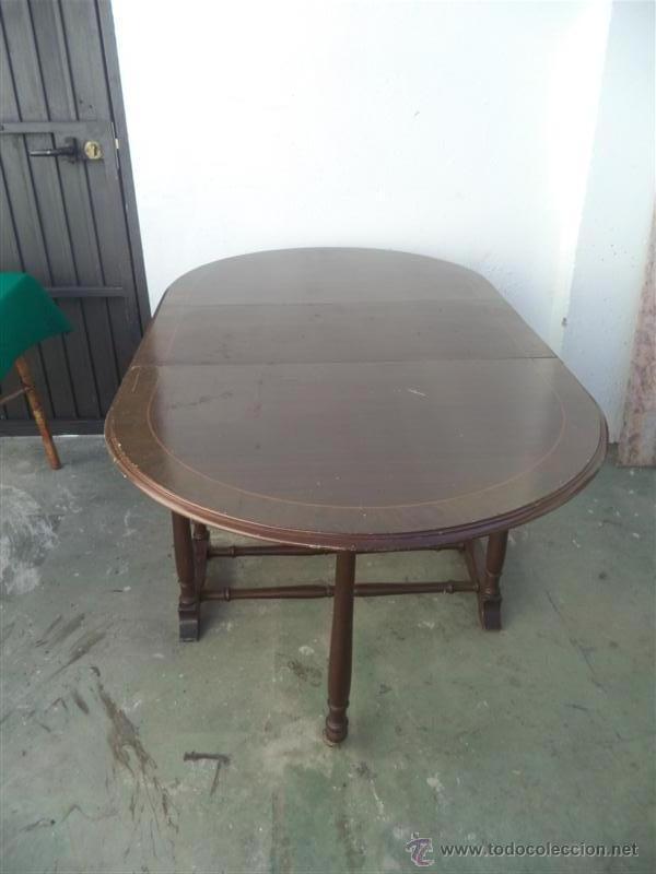 Antigüedades: mesa de alas - Foto 2 - 52841139