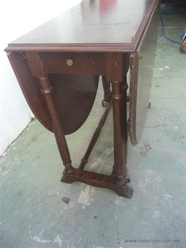 Antigüedades: mesa de alas - Foto 3 - 52841139