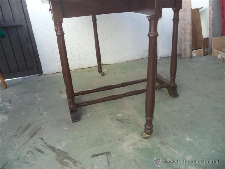 Antigüedades: mesa de alas - Foto 4 - 52841139