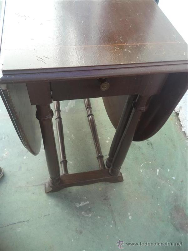 Antigüedades: mesa de alas - Foto 5 - 52841139