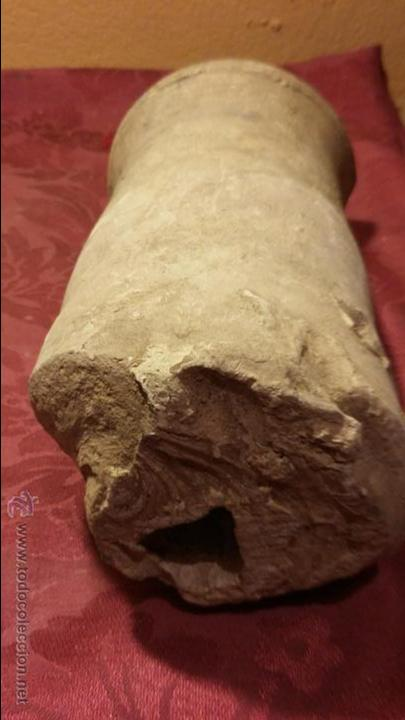 Antigüedades: antiquisima pieza de barro . desconozco utilidad. algun tipo de envase. muy antigua. no podria datar - Foto 3 - 52849215