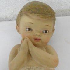 Antigüedades: NIÑO JESUS,OJOS DE CRISTAL,SELLADO ,AÑOS 50. Lote 52855126