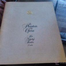 Discos de vinilo: THE PHANTOM OF THE OPERA 1986. Lote 52865920