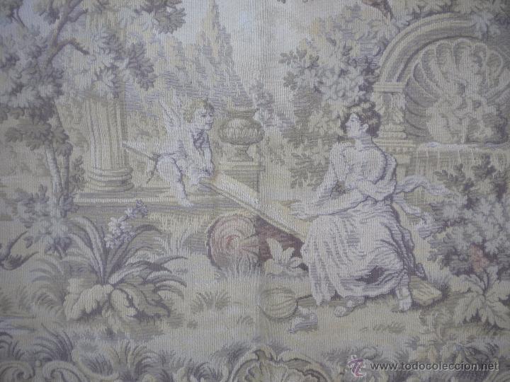 TAPIZ 145X48, SIN ROTURAS, SOLO PARA LIMPIAR (Antigüedades - Hogar y Decoración - Tapices Antiguos)