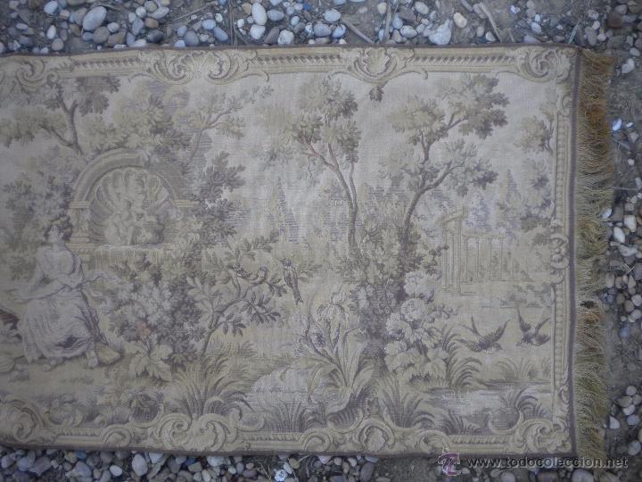 Antigüedades: TAPIZ 145X48, SIN ROTURAS, SOLO PARA LIMPIAR - Foto 2 - 52866223