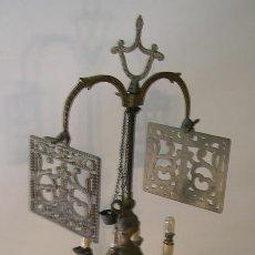 Antigüedades: VELON DE BRONCE. Lote 52866559