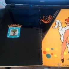 Discos de vinilo: REVISTA.LIDO MUSIC - HALL ALCALA, EL MAS CELEBRE MUSIC - HALL DE MADRID 1980. Lote 52867255