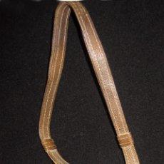 Antigüedades: BOLSO ANTIGUO EN PIEL, PLATA, ESMALTE GUILLOCHÉ Y MINIATURA. Lote 52868690