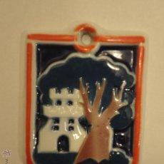 Antigüedades: MEDALLA DE CASTRO CON ESCUDO DE LA CIUDAD DE VIGO. Lote 52875557