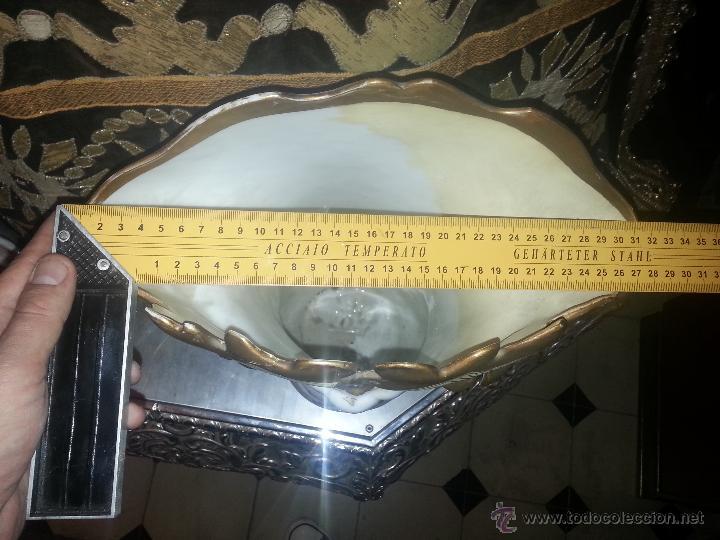 Antigüedades: GIGANTES PAREJA DE JARRONES ISABELINOS 47 X 32 CM VER FOTOS LEER, IDEAL CAPILLA VIRGEN ALTAR - Foto 11 - 52891383