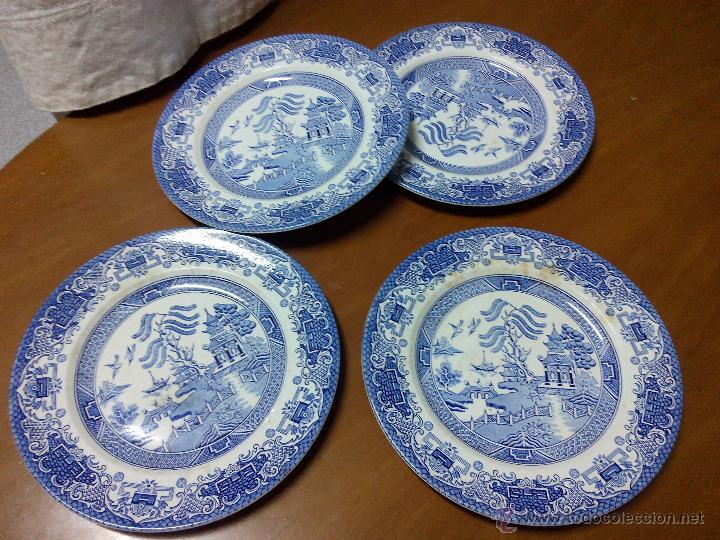 Antiguos platos de porcelana johnson bros engl comprar - Porcelana inglesa antigua ...