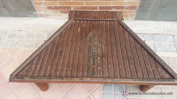 Antigüedades: MESA de antiguo CARRO CHINO / Procedencia: Xian / SOLO MADRID - Foto 2 - 52906955