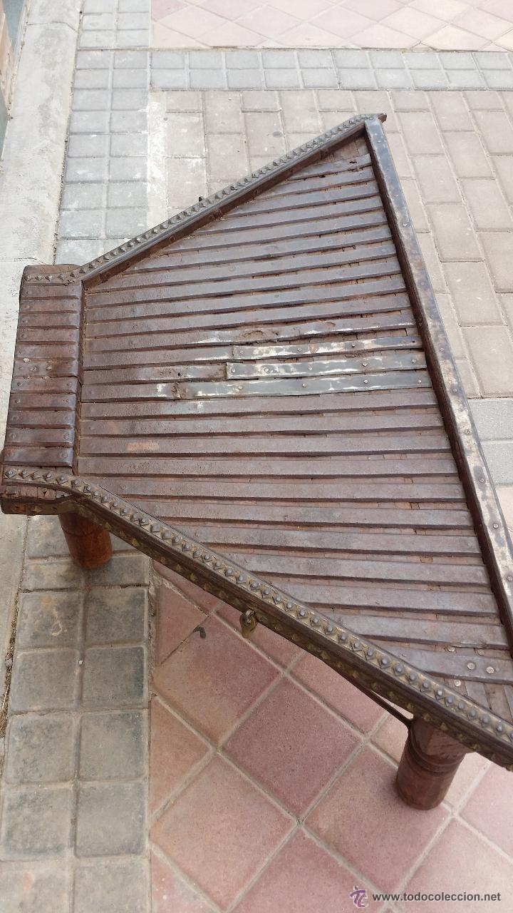 Antigüedades: MESA de antiguo CARRO CHINO / Procedencia: Xian / SOLO MADRID - Foto 3 - 52906955