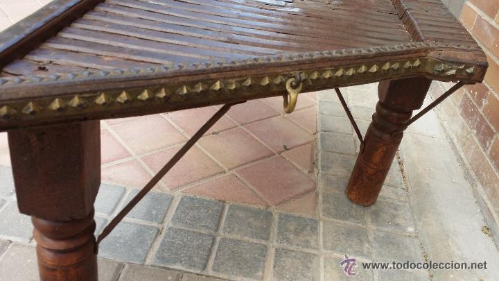 Antigüedades: MESA de antiguo CARRO CHINO / Procedencia: Xian / SOLO MADRID - Foto 4 - 52906955