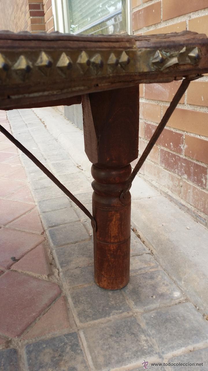 Antigüedades: MESA de antiguo CARRO CHINO / Procedencia: Xian / SOLO MADRID - Foto 5 - 52906955