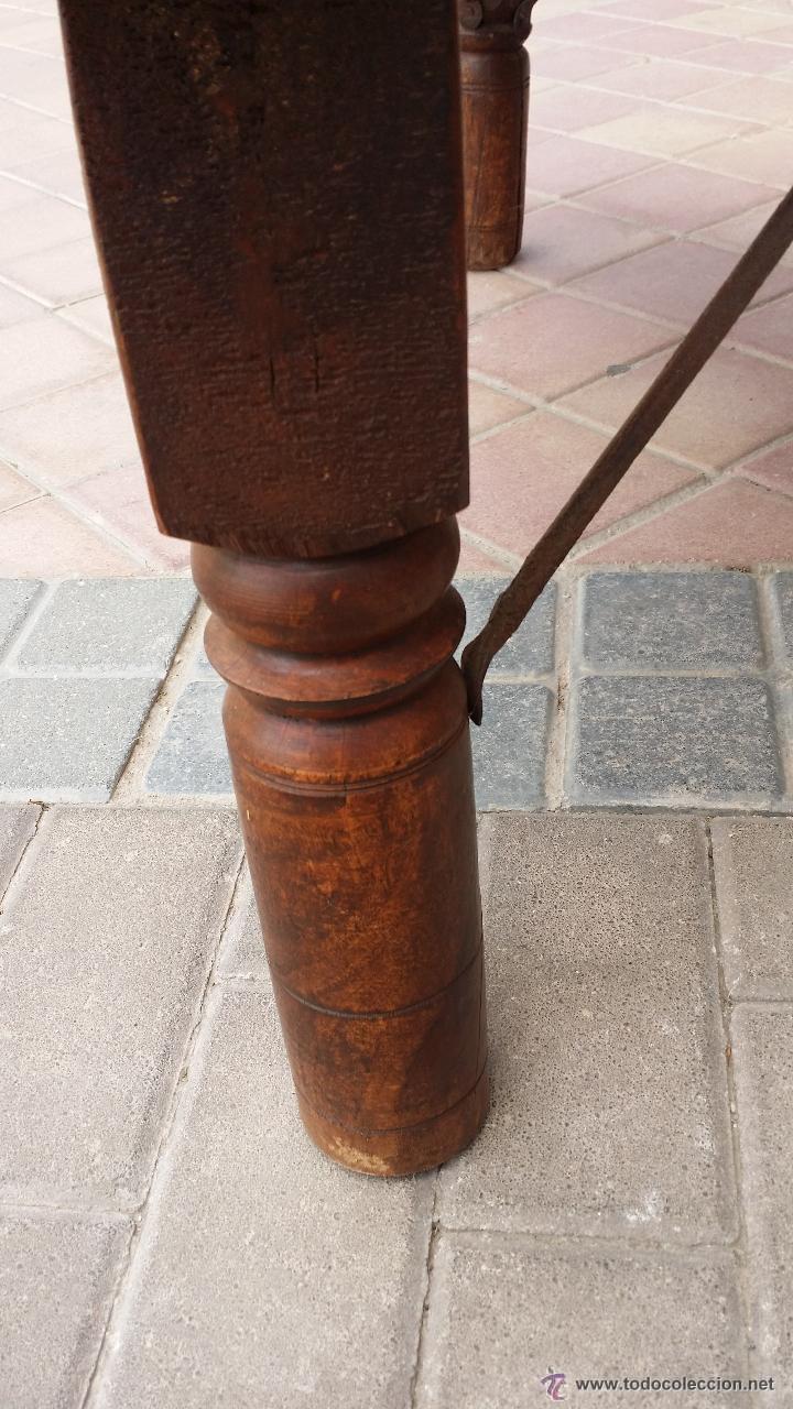 Antigüedades: MESA de antiguo CARRO CHINO / Procedencia: Xian / SOLO MADRID - Foto 9 - 52906955