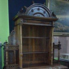 Antigüedades: APARADOR ESTILO ALFONSINO DE NOGAL, FINAL DEL SIGLO XIX. Lote 52908643