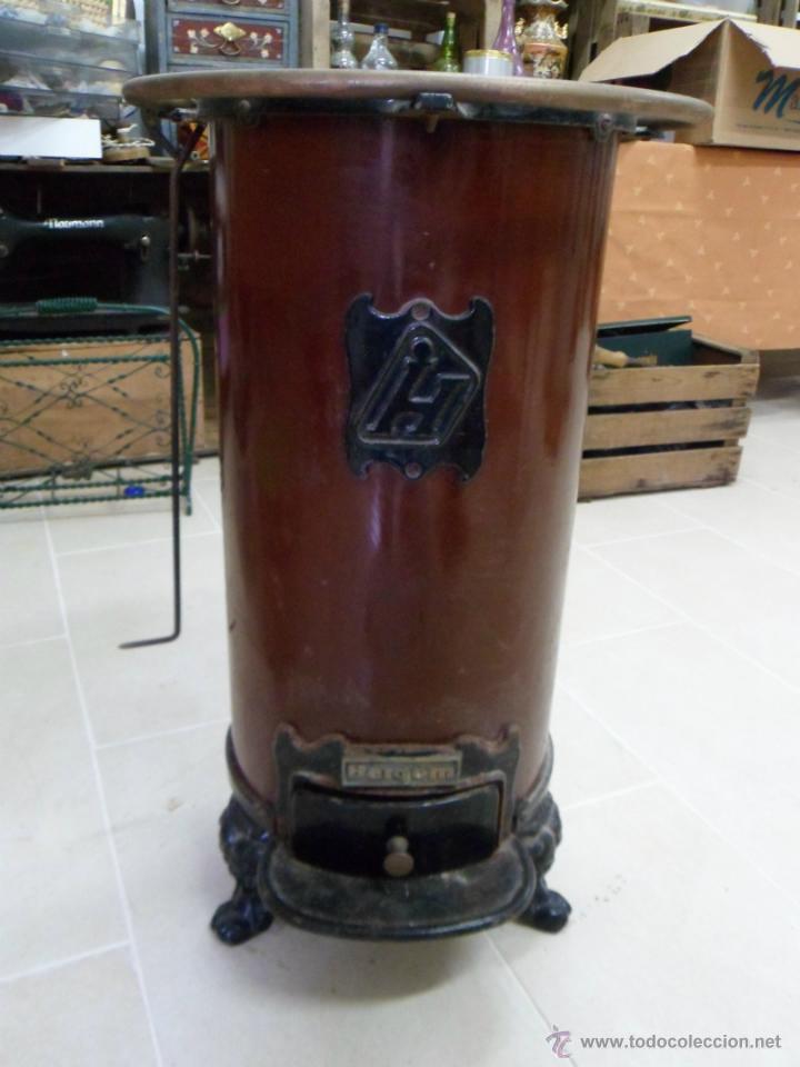 Antigua estufa de le a o cocina de la casa herg comprar - Estufa antigua de lena ...