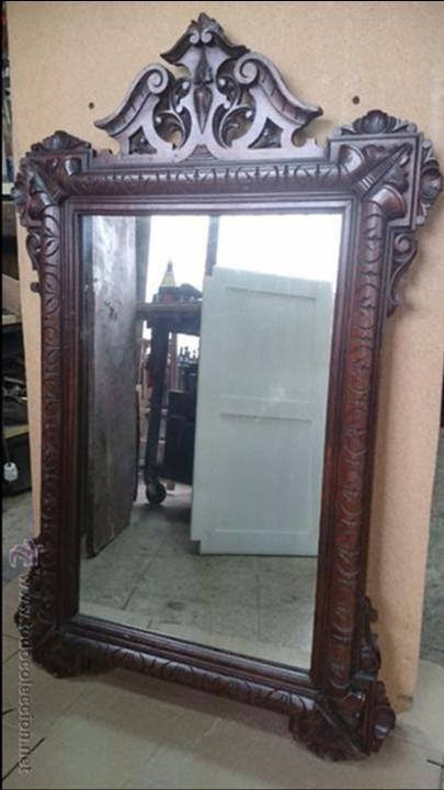 Marco para espejo alfonsino comprar espejos antiguos en - Espejos antiguos de pared ...