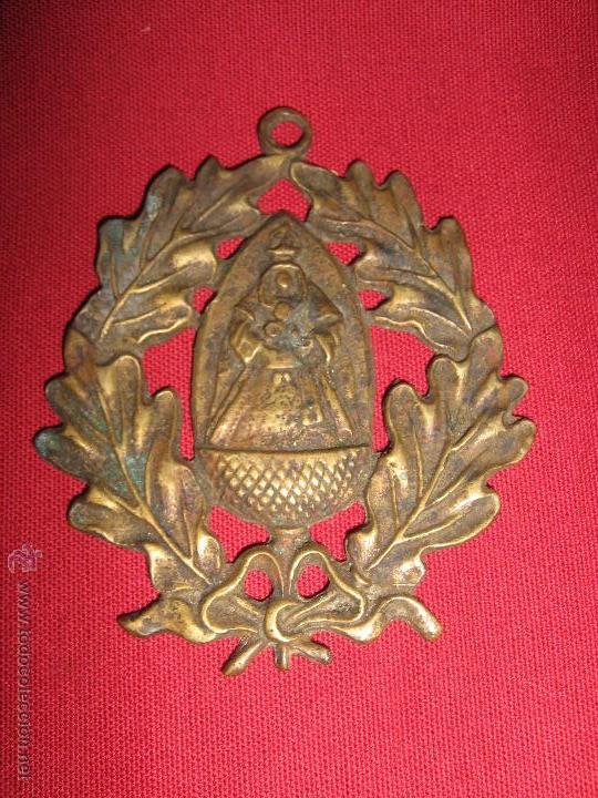 ANTIGUA MEDALLA DE PRICIPIOS DEL SIGLO XX CON IMAGEN DE NTRA SRA ESCARDIEL (Antigüedades - Religiosas - Medallas Antiguas)