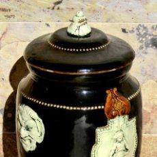 Antigüedades: PRECIOSO FILTRO DE AGUA - CERÁMICA ESTILO ART DECÓ - ÁNGELES Y DEMONIOS - ORIGINAL TEMÁTICA -. Lote 52932689