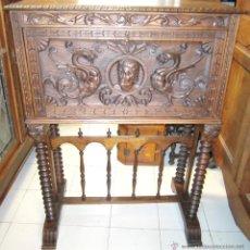 Antigüedades: BARGUEÑO DE CASTAÑO. Lote 52936704