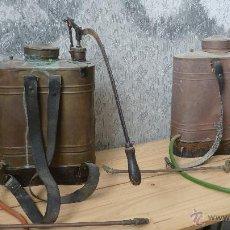 Antigüedades: MOCHILAS SULFATAR. COMPLETAS Y MUY BONITAS. Lote 216506740