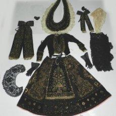 Antigüedades: EXCEPCIONAL TRAJE TRADICIONAL CHARRO SALMANTINO, SALAMANCA, SIGLO XIX, AUTENTICA PIEZA DE MUSEO, LE. Lote 52945901