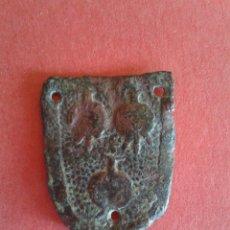 Antigüedades: INSIGNIA DE CABALLERO MEDIEVAL. APELLIDO MALART O MALARTS. DOCUMENTADO EN LLEIDA Y GIRONA. VER.. Lote 52952224