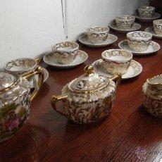 Antigüedades: JUEGO CAFÉ PORCELANA . Lote 52960594