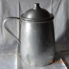 Antigüedades: JARRA DE ALUMINIO. Lote 52963719