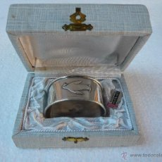 Antigüedades: SERVILLETERO DE PLATA. Lote 52965834